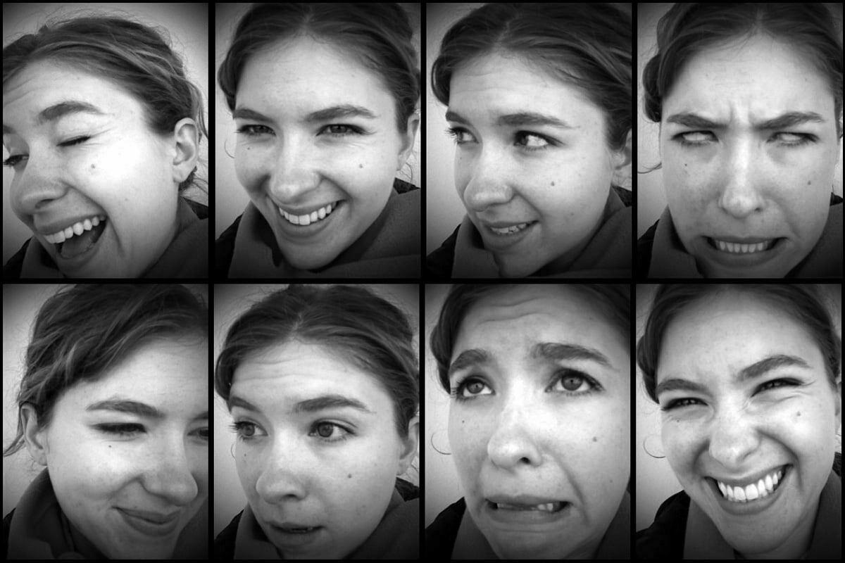 Octoplet series of my sister