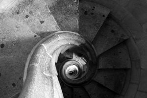 Sagrada-Família-spiral-staircase-barcelona