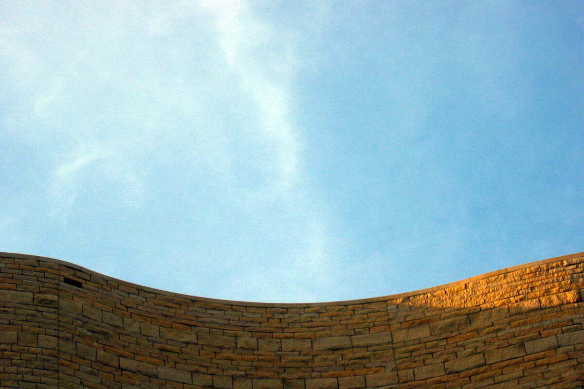 The Roofline of the National Museum of the American Indian