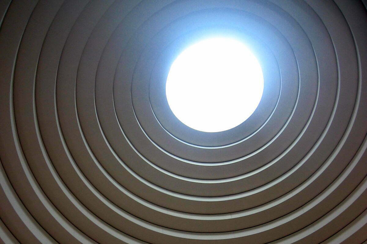 The skylight of the National Museum of the American Indian