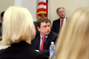 Staff reporter for the Washington Post appears on a panel discussion on the Hill.