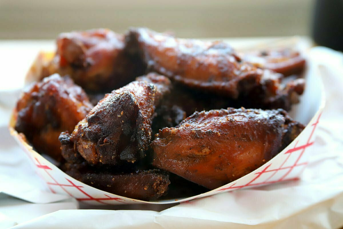 Chicken wings from Federalist Pig in Washington DC.