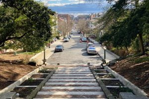 View from the Spanish Steps — Washington, DC
